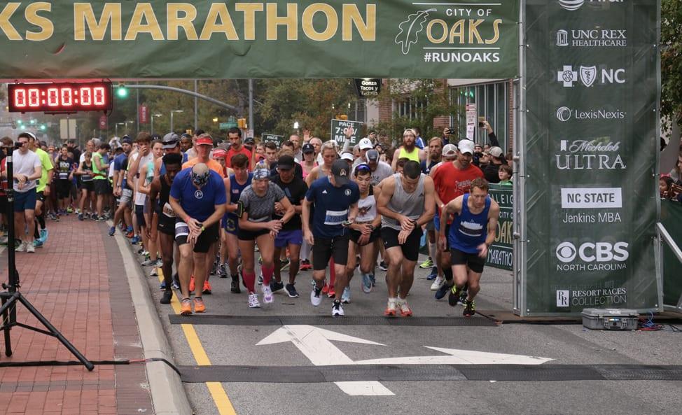 Raleigh NC Marathon