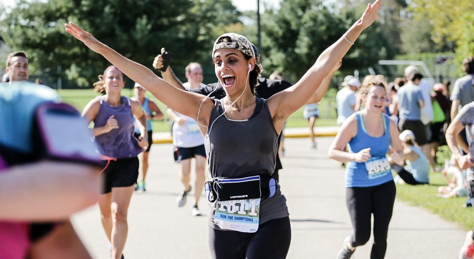 Marathons in the Hamptons