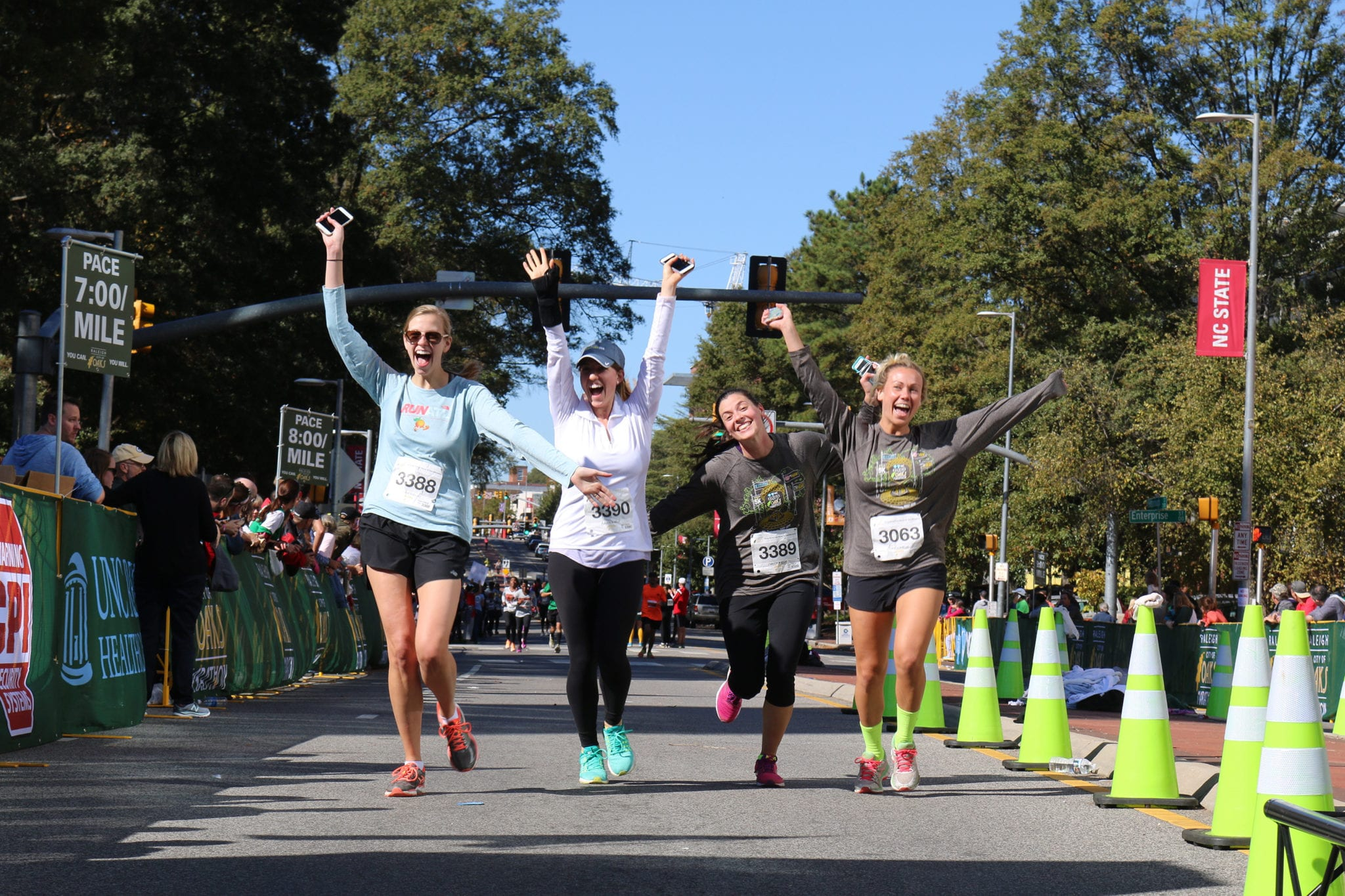 Best marathons Raleigh NC