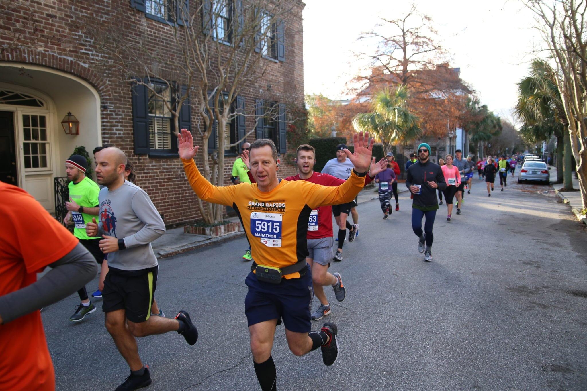 half marathon runner