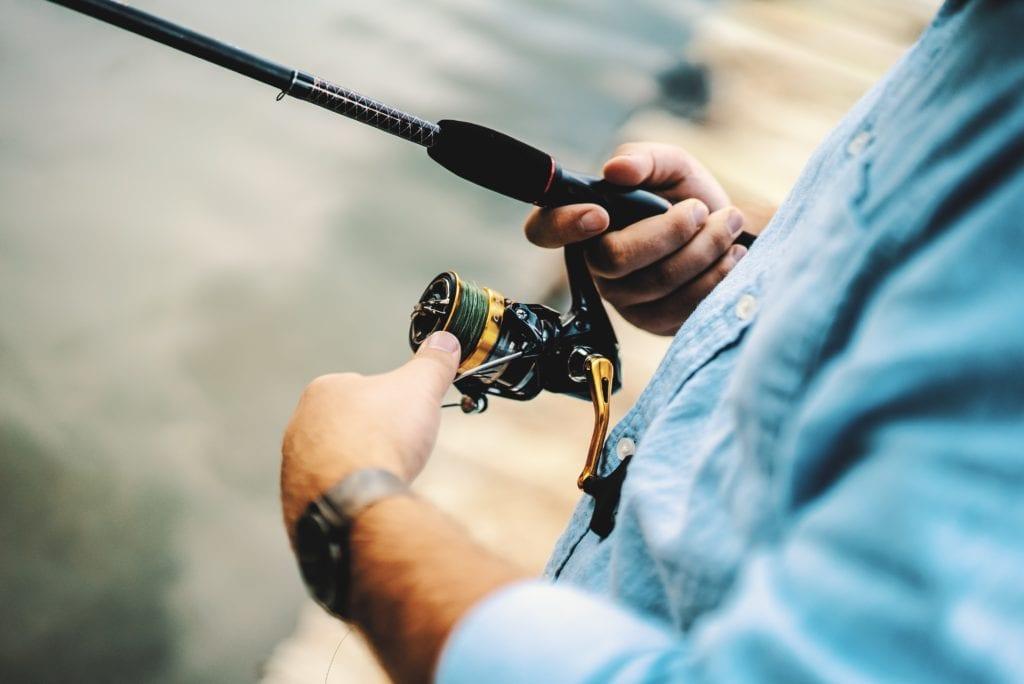 Fishing in Sea Island