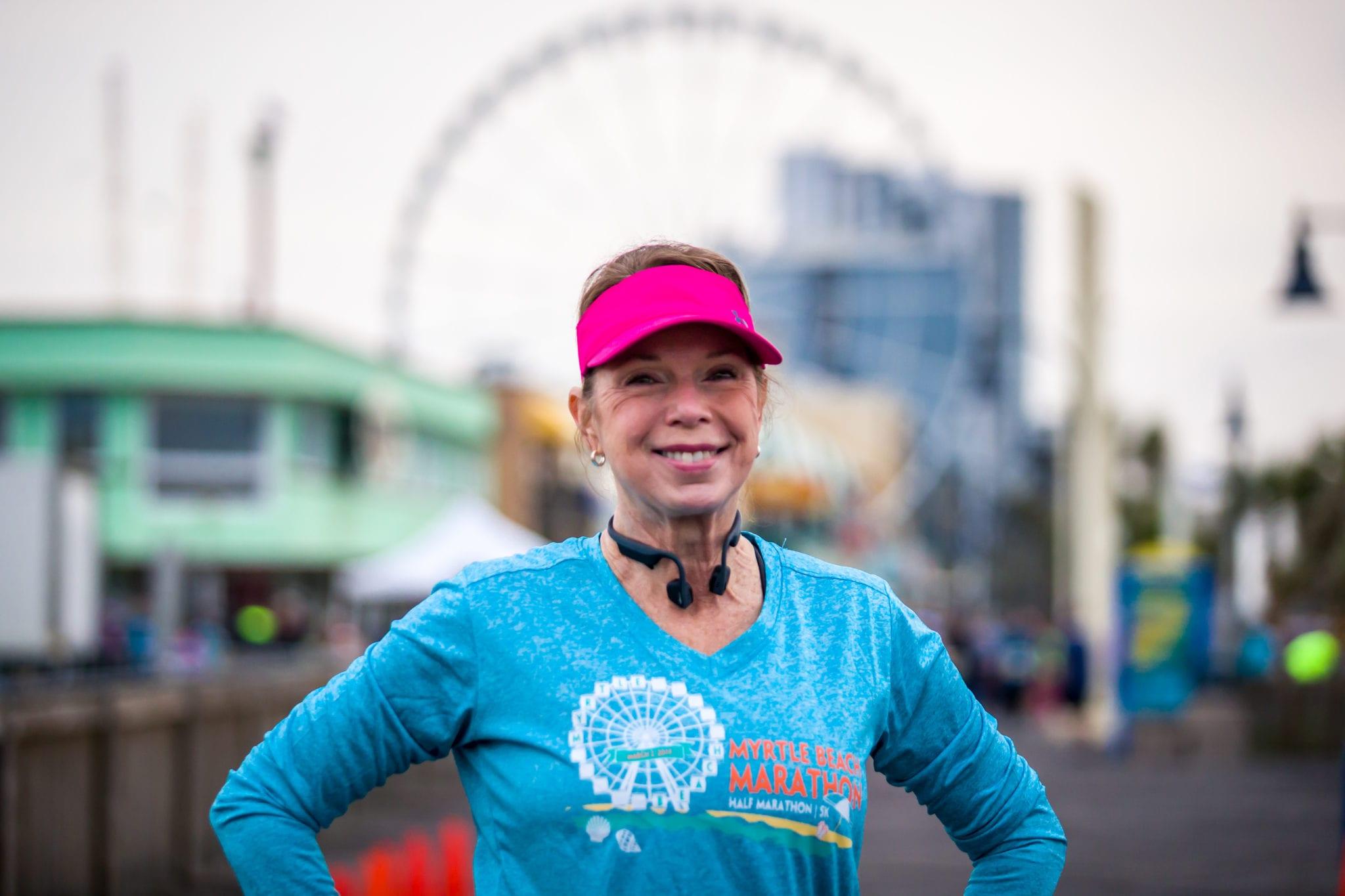 Myrtle Beach marathon runner