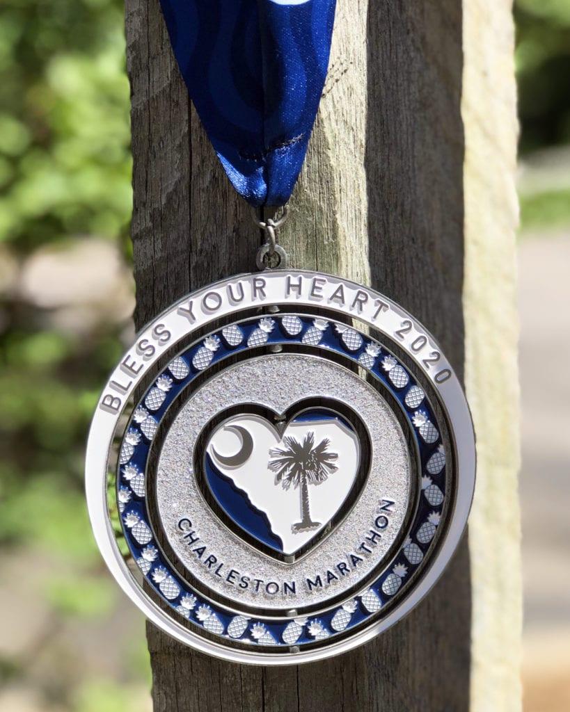 South Carolina Marathon Medal