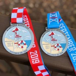hamptons marathon medals