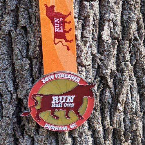 bull city race fest medal