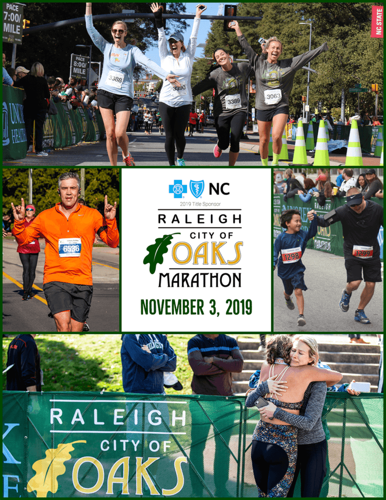 2019 Raleigh City of Oaks Participant Guide