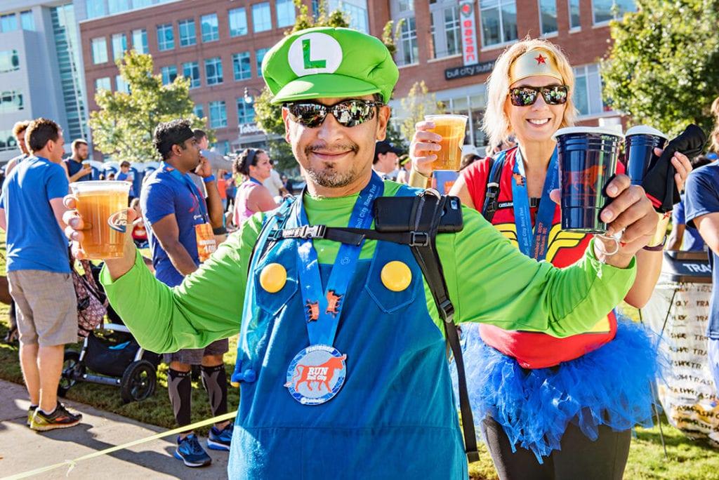 bull city race fest costume contest