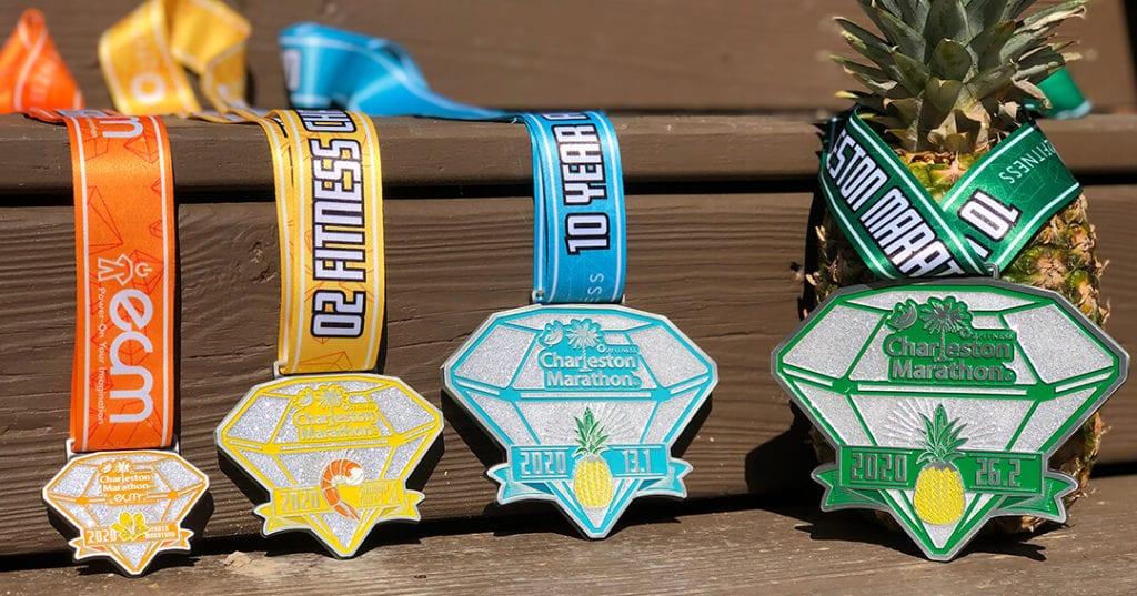 charleston marathon medals