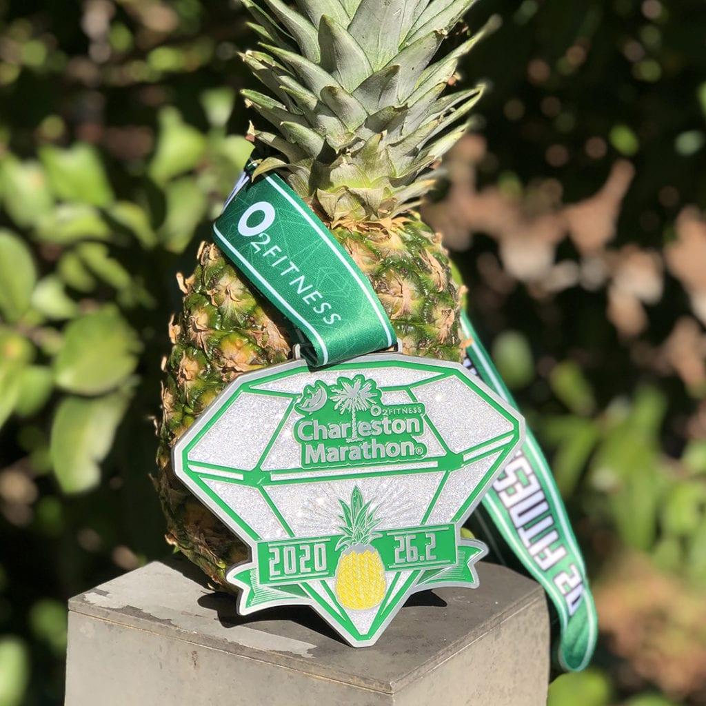 charleston marathon medal