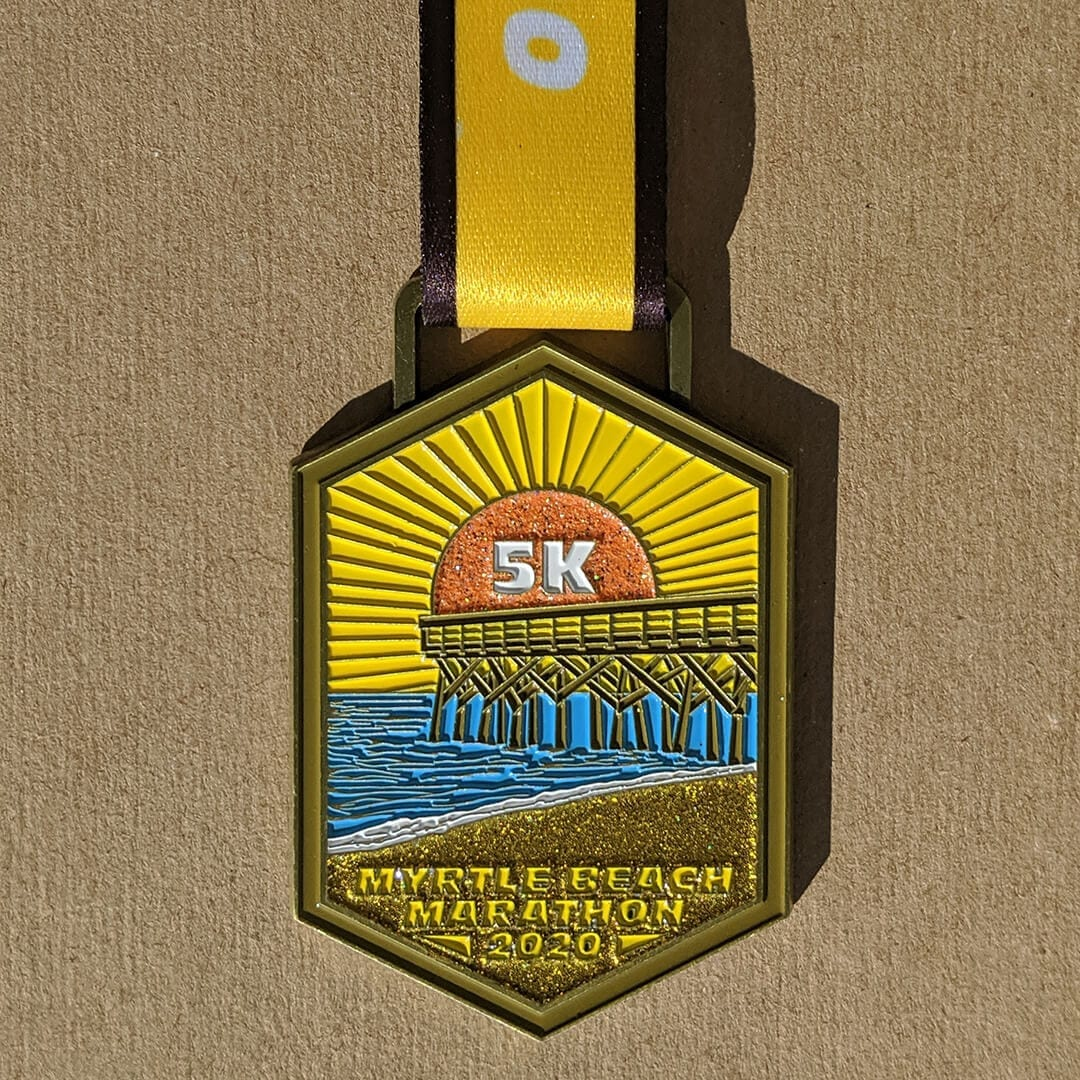 Myrtle Beach 5k Finisher Medal