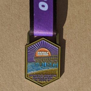 Family Fun Run Finisher Medal