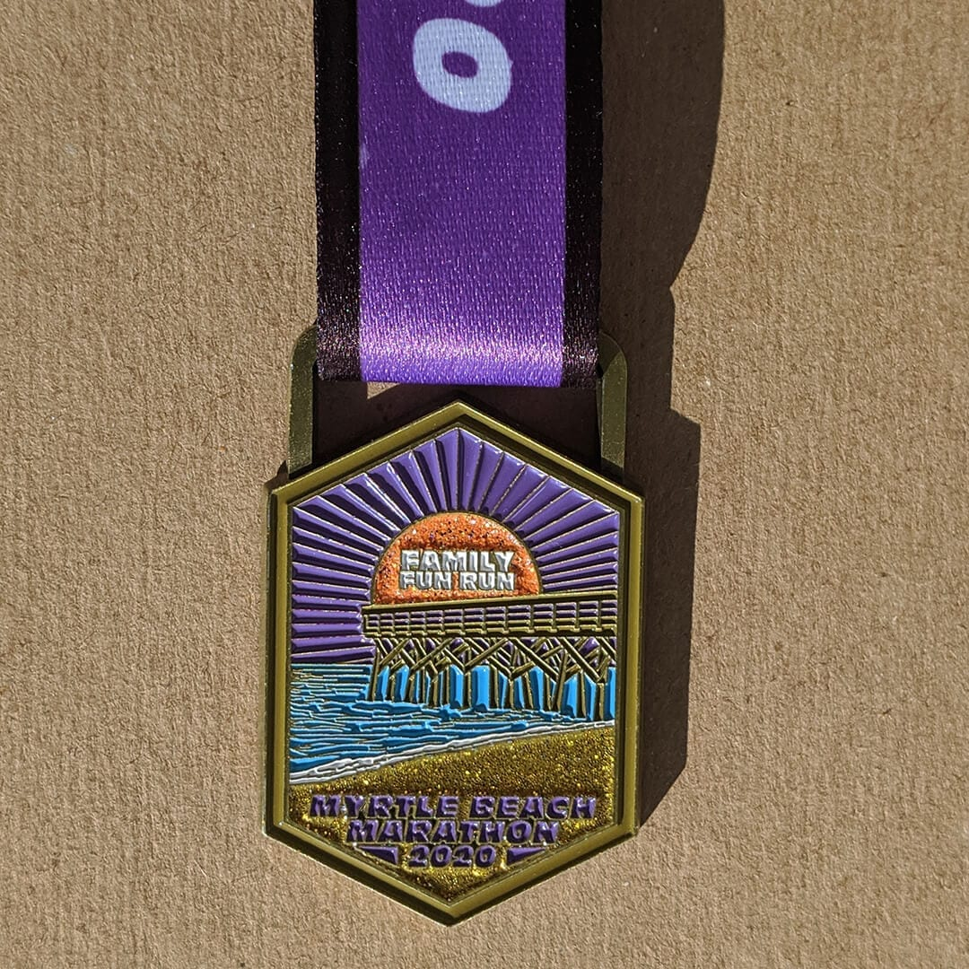 Family Fun Run Finisher Medal