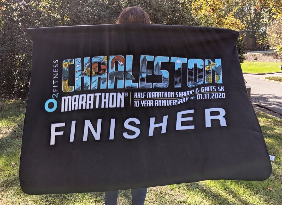 2020 Charleston Finisher Blanket