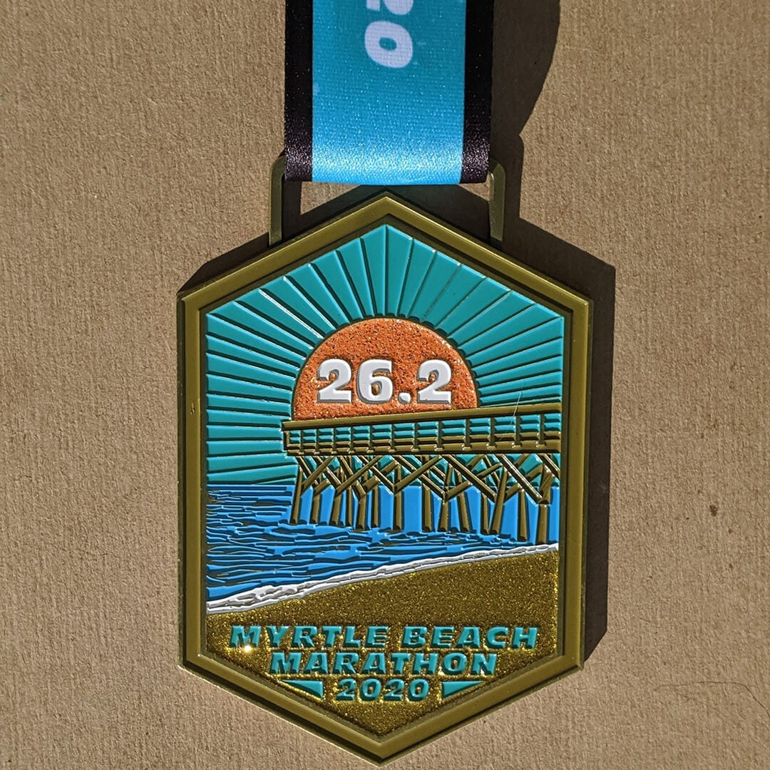 Myrtle Beach Marathon Finisher Medal