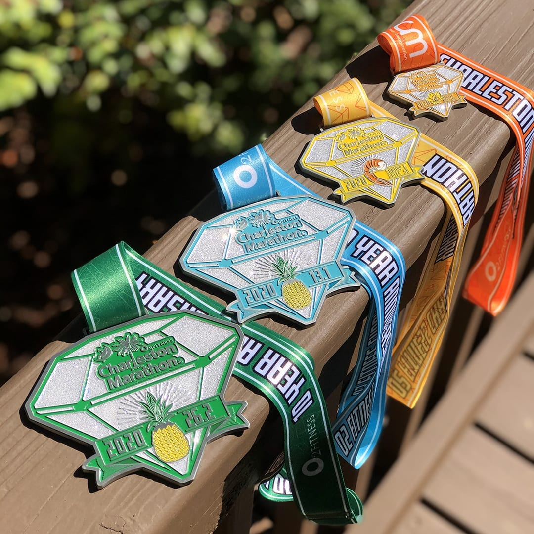 2020 Finisher Medal Charleston Marathon