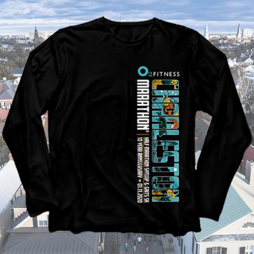 O2 Fitness Charleston Marathon Participant Shirt
