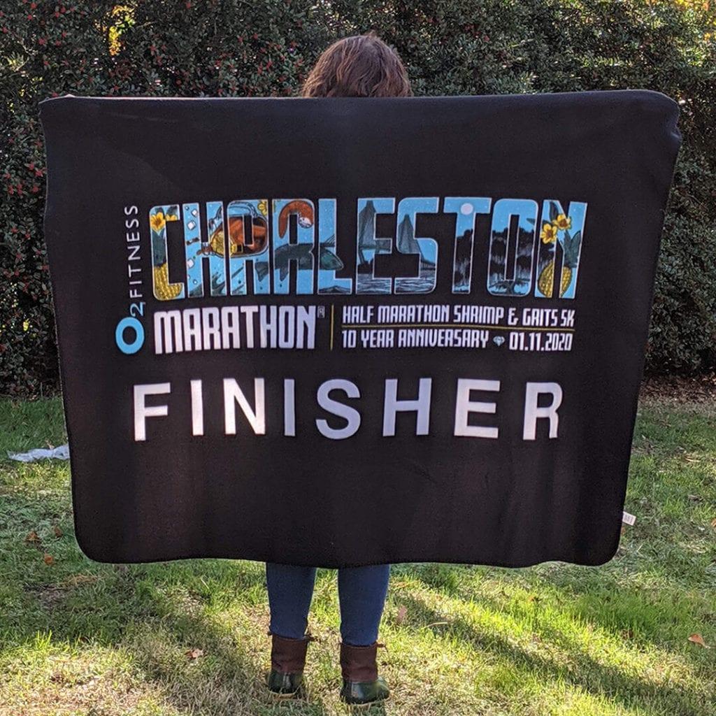 Charleston Marathon Finisher Blanket