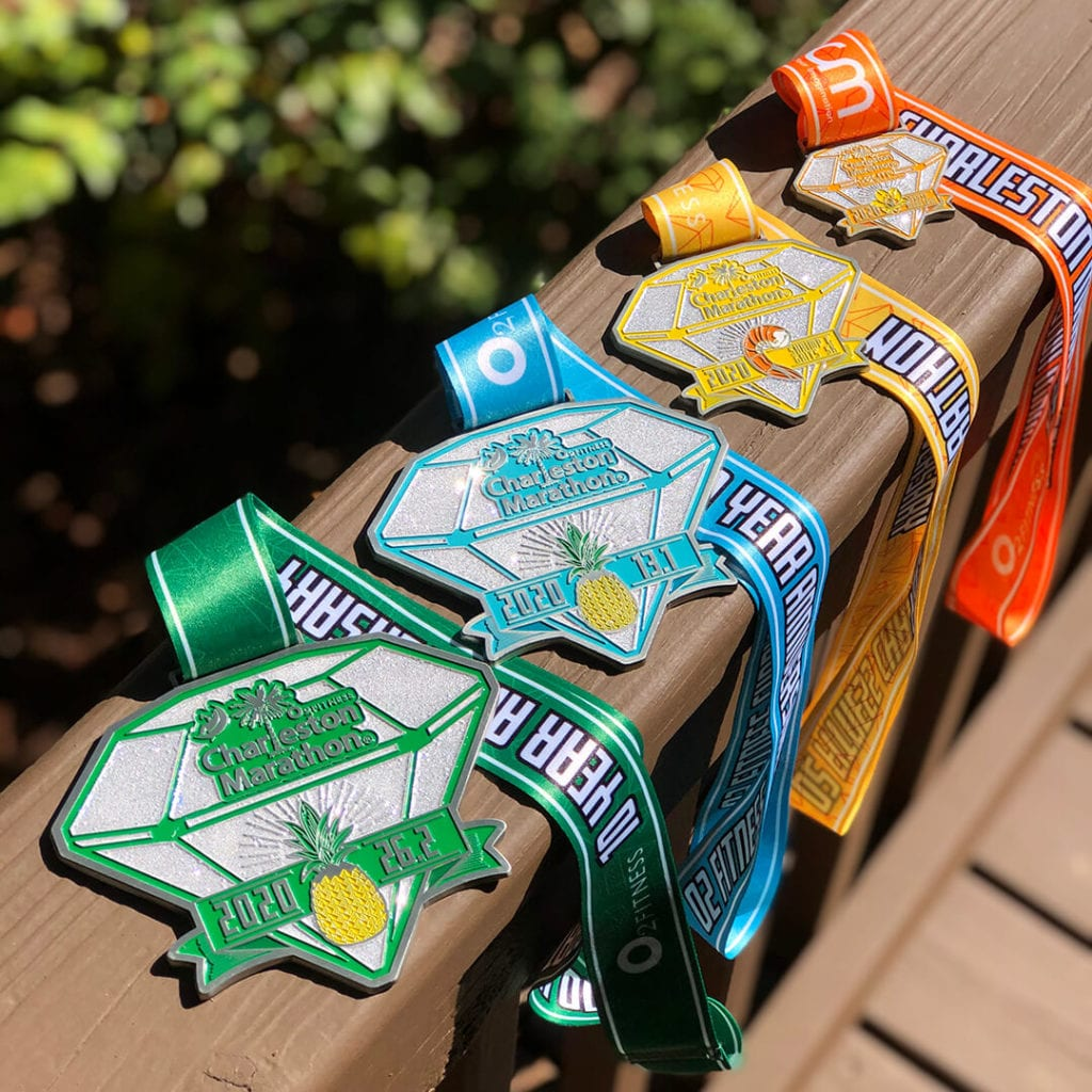 10th Anniversary Charleston Marathon Finisher Medal