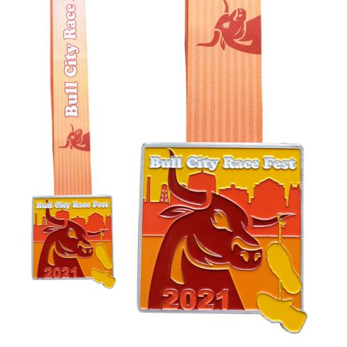 Bull City Race Fest_Medal